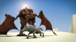 dragon hunting 3d animation