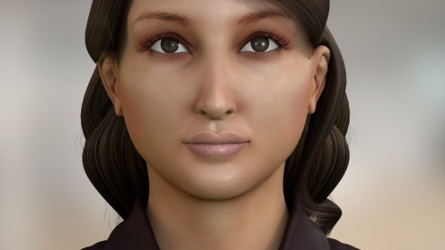 Indian female avatar